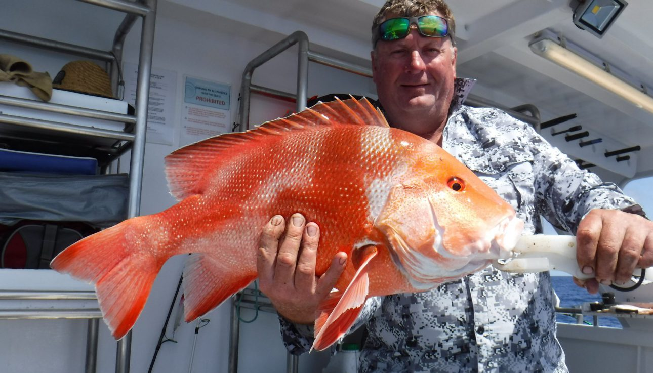 Great catch landed at Swain Reef
