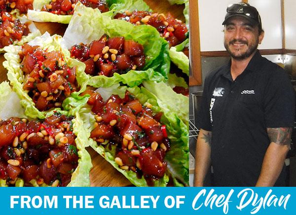 Chef Dylan's Tuna Tartar