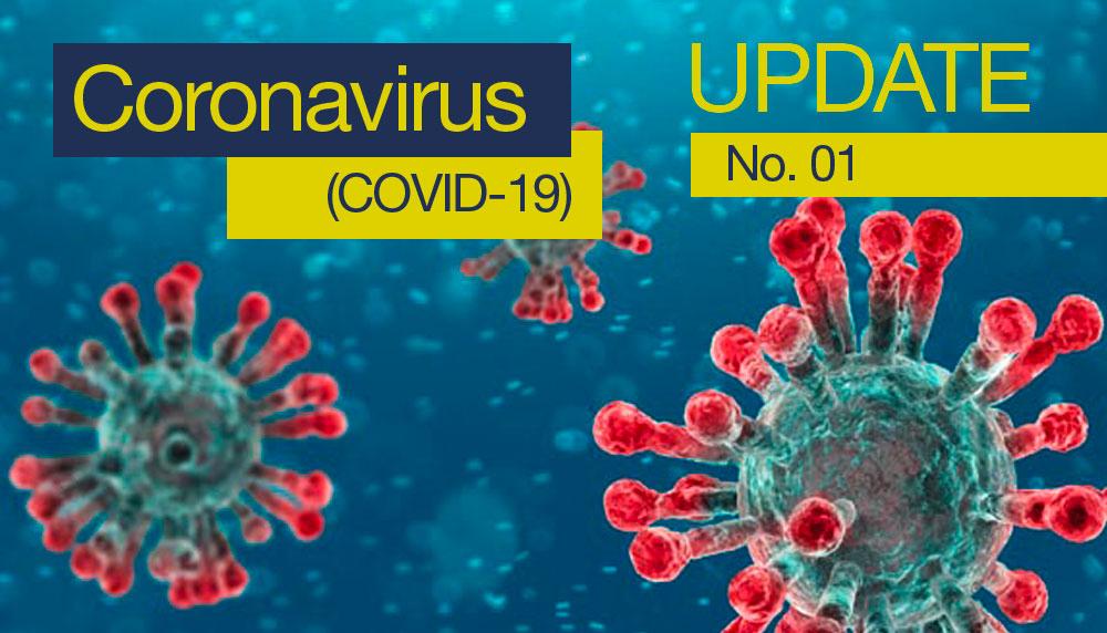 COVID-19 update 01