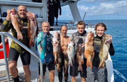 Gladstone reef fishing charter